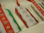 Handmade Christmas gift tags - series