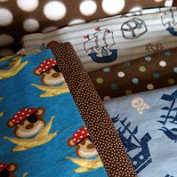 Monkey Pirate fabric