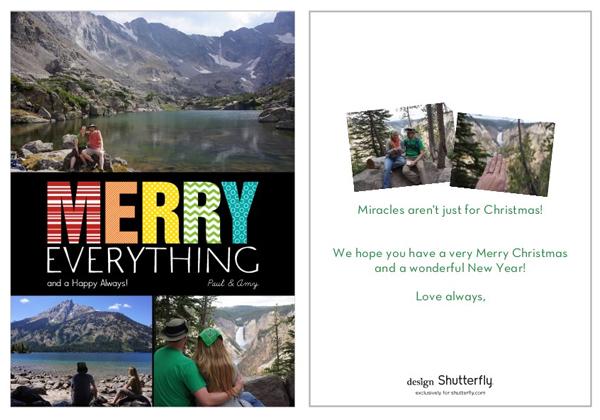 Our Christmas Card, 2012