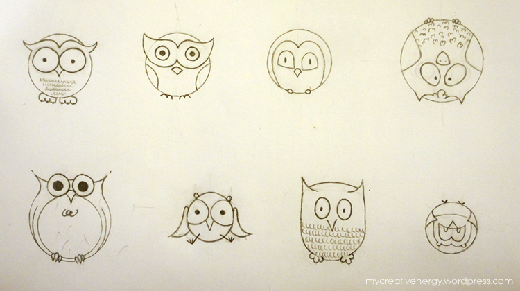 Gallery For gt Easy Owl Doodle