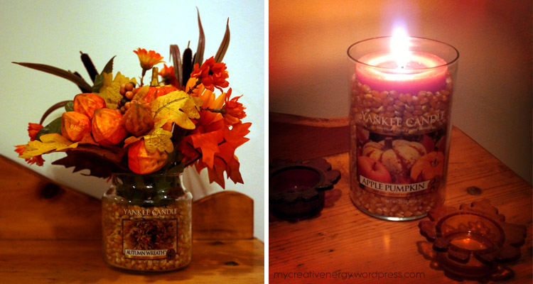 More easy to do upcycled candle jars!