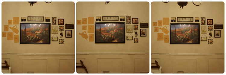Gallery Wall process