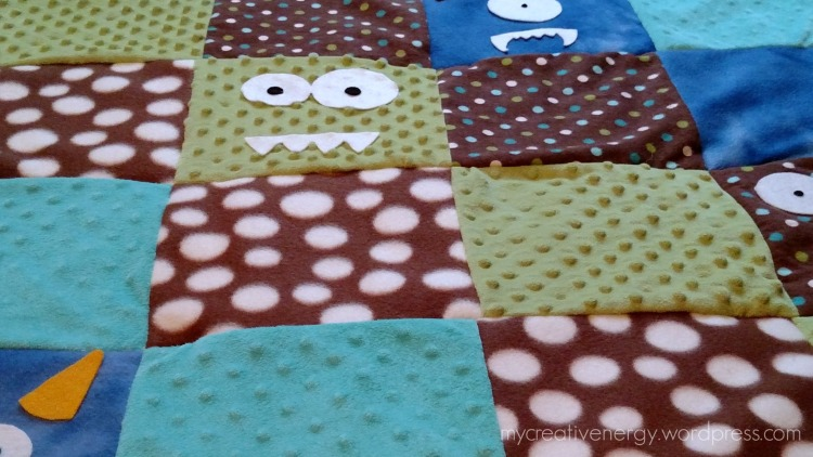 Textured fabric for Monster Quilt