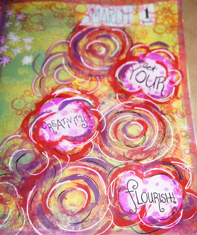 Art Journal - Let Your Creativity Flourish