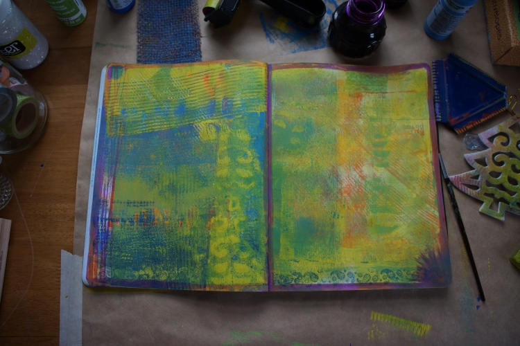 Art journal process