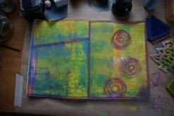 Art journal process 5a