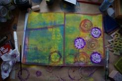Art journal process 6a