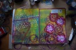 Art journal process 8a
