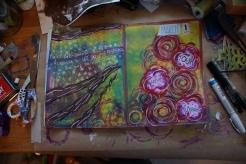 Art journal process 9a
