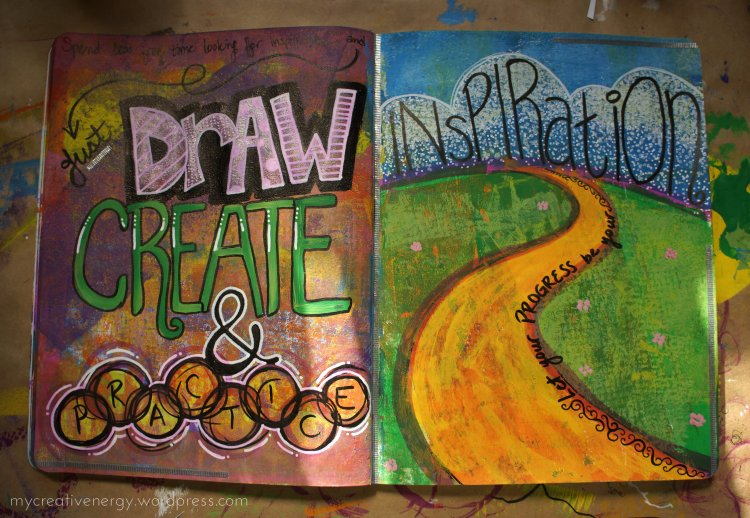 Art Journal: Just Draw, Create & Practice