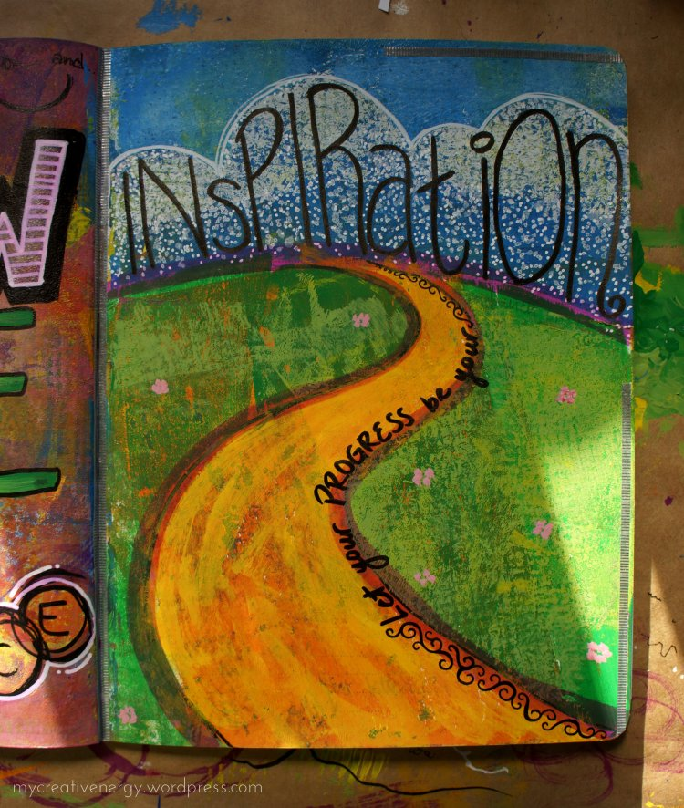 "Art Journal ""Inspiration"""