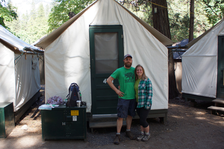 Goodbye tent cabin 478