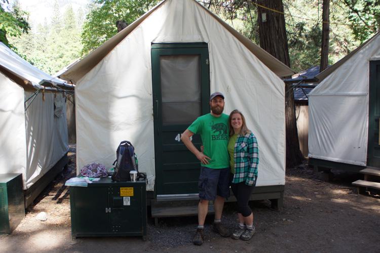 Goodbye tent cabin 478