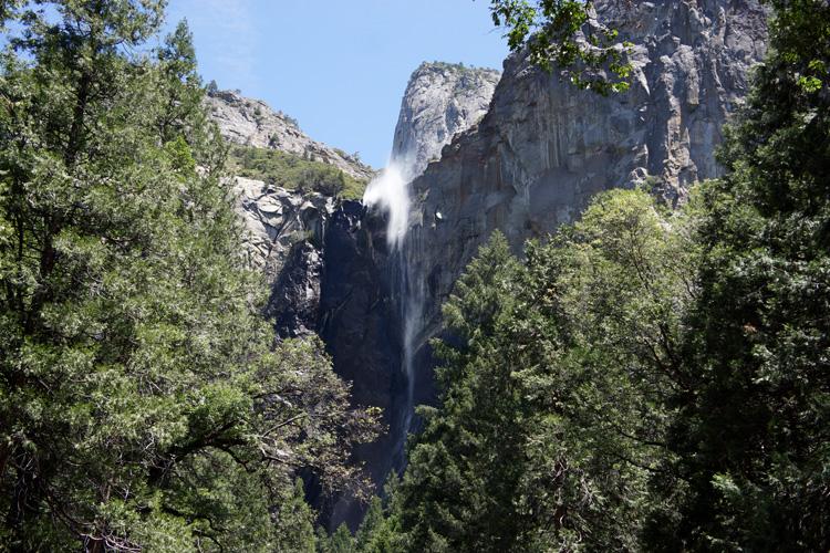 Closeup: Bridal Veil Falls, Yosemite NP
