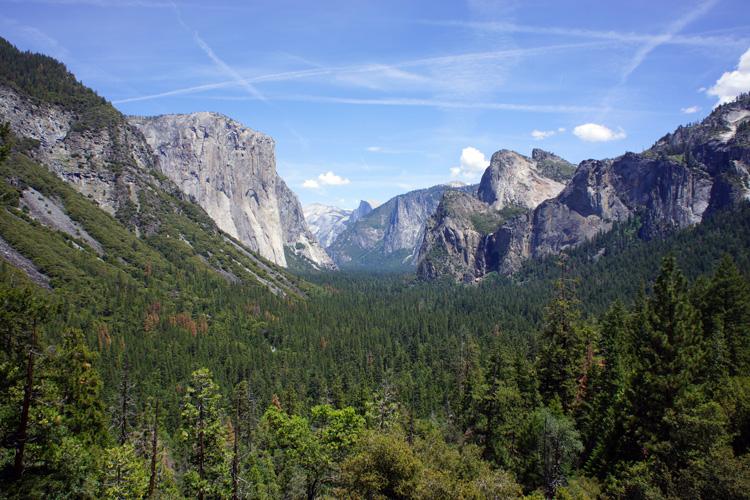 Tunnel View, Yosemite NP
