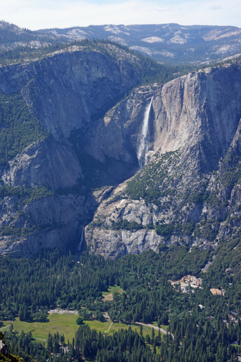 Upper & Lower Falls from Glacier Point