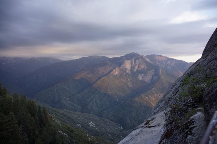 Climbing Moro Rock, Sequoia NP