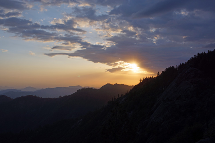 Views from Moro Rock, Sequoia NP