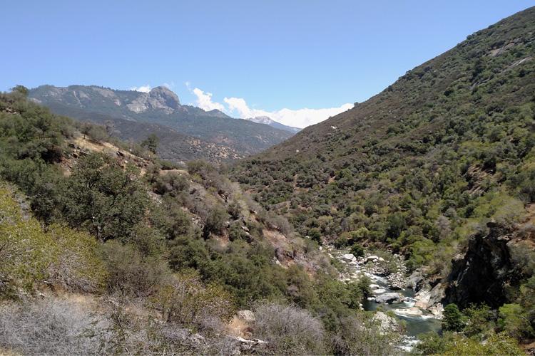 Kaweah River Valley