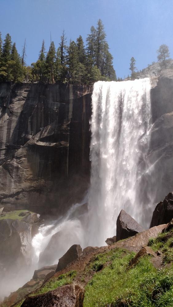 Vernal Falls, Yosemite Park